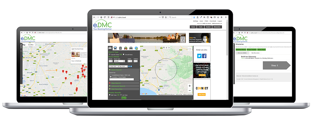 EDMC Your booking partner in Action